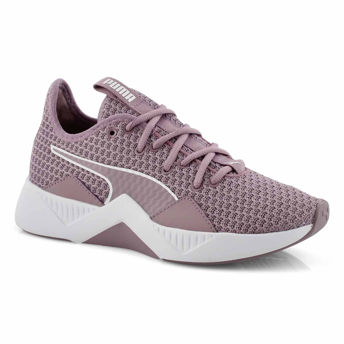 Lds Incite FS elderberry lace up sneaker