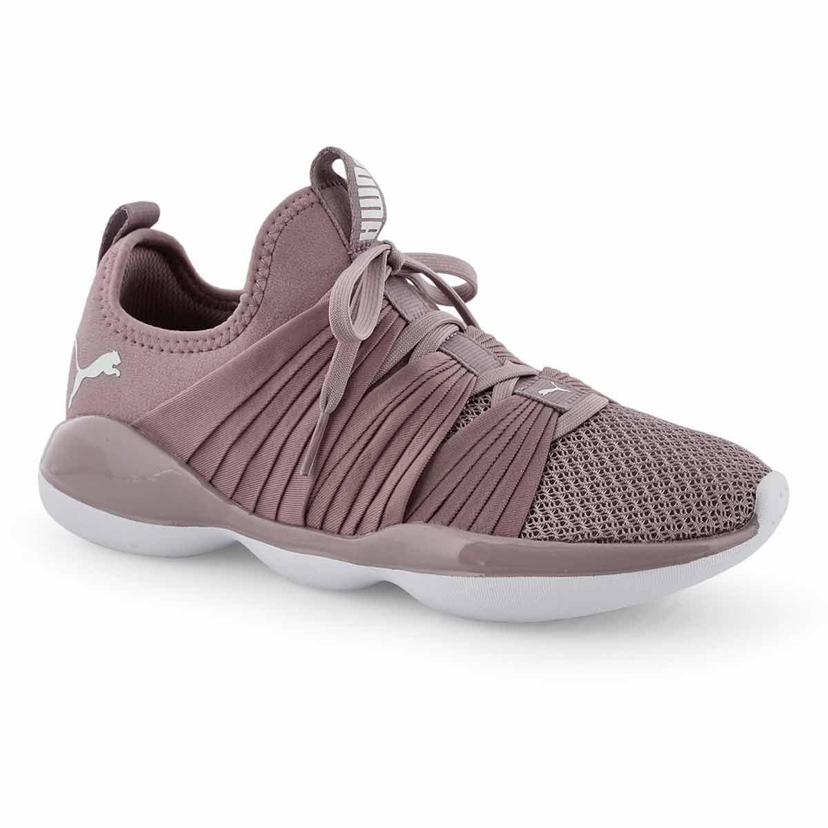 Lds Flourish elderberry slip on sneaker