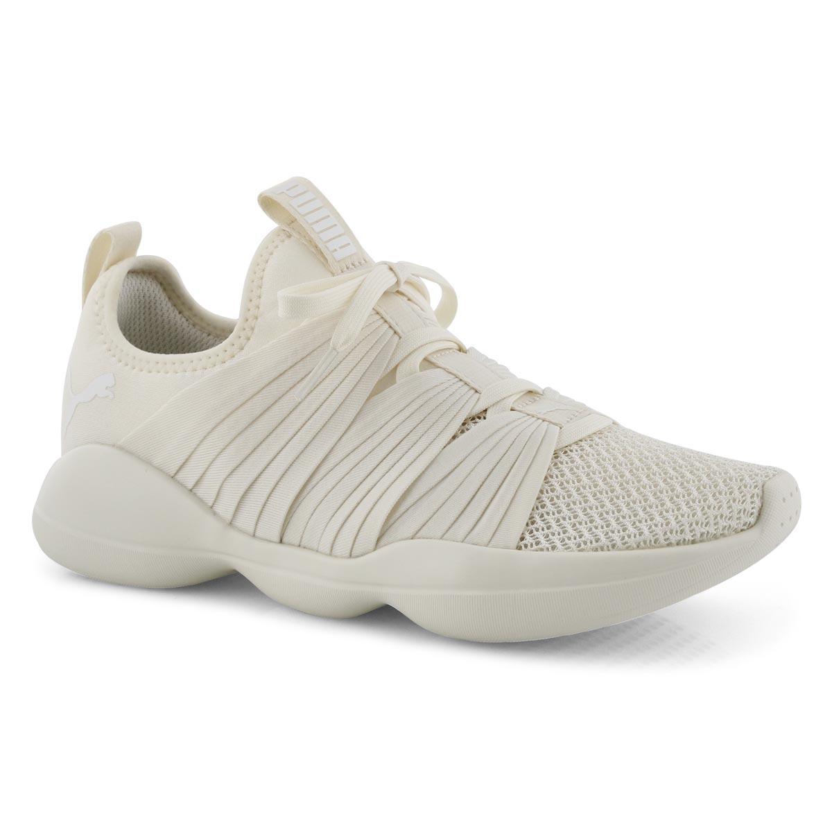 Lds Flourish white slip on sneaker