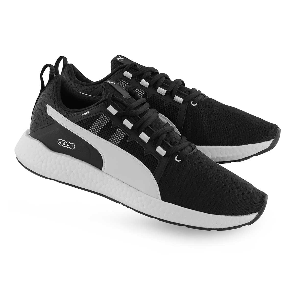 Mns NRGY Neko Turbo blk/wht lace up snkr