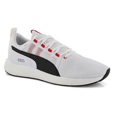 Mns NRGY Neko Turbo wht/red lace up snkr