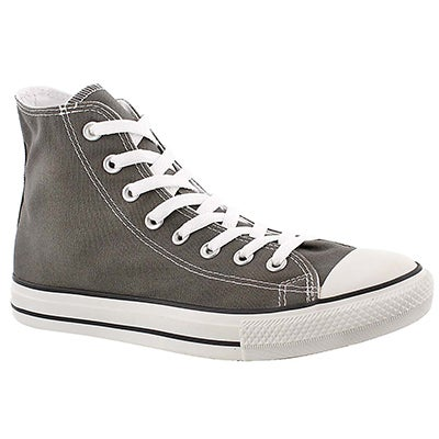 Converse Men's CHUCK TAYLOR CORE HI charcoal sneakers