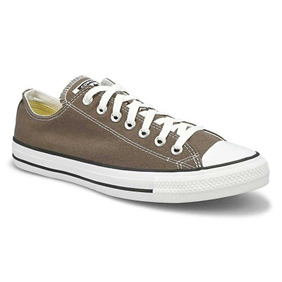Converse Men's CHUCK TAYLOR CORE OX charcoal sneakers