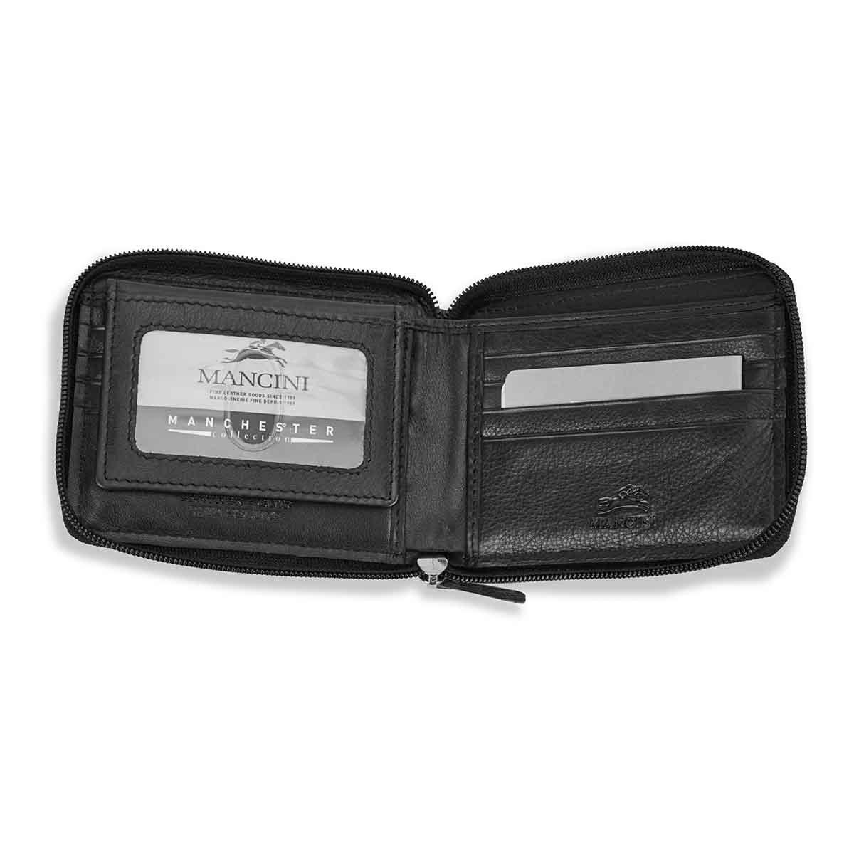 Mns zip around RFID secure wallet