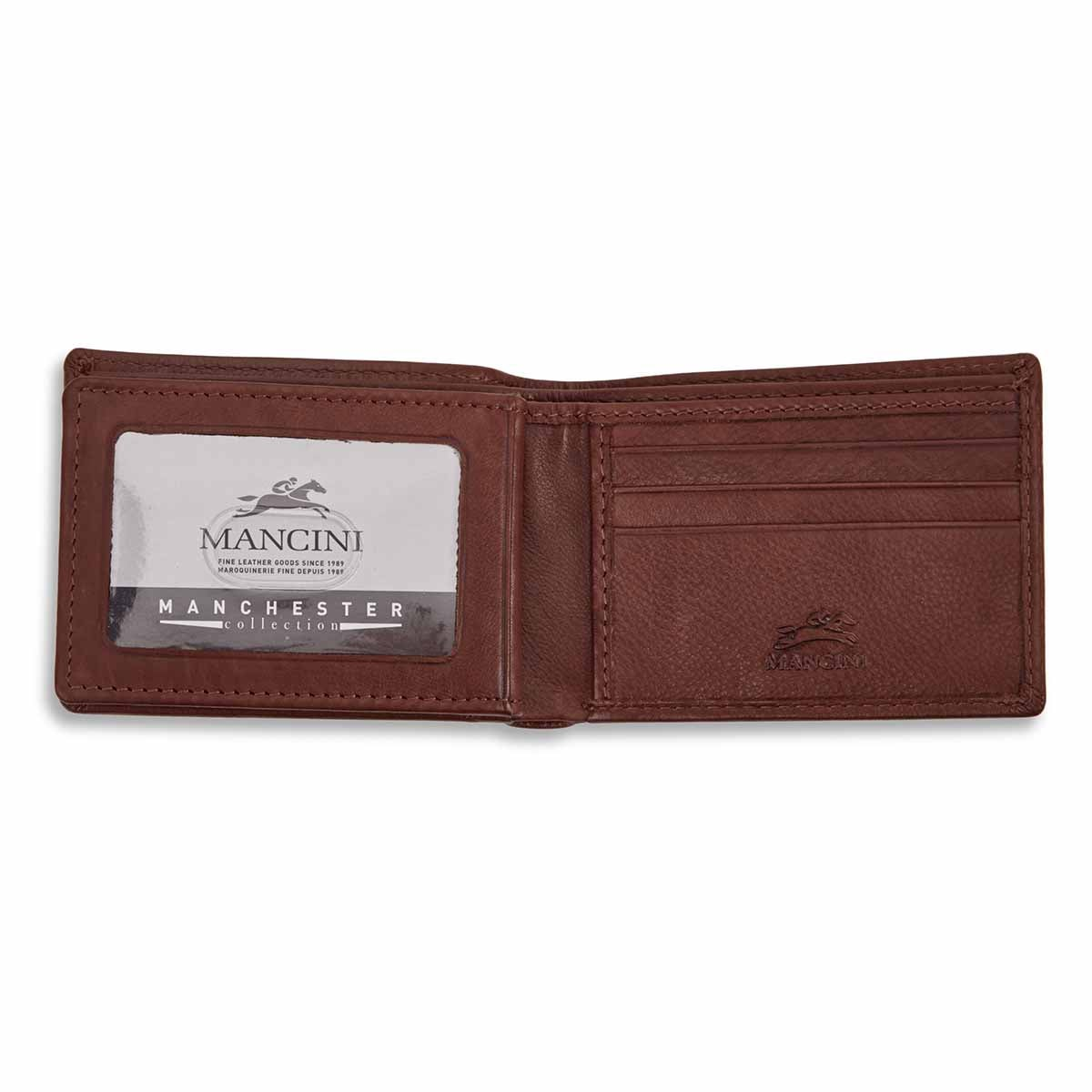 Mns center wing cgnc RFID secure wallet