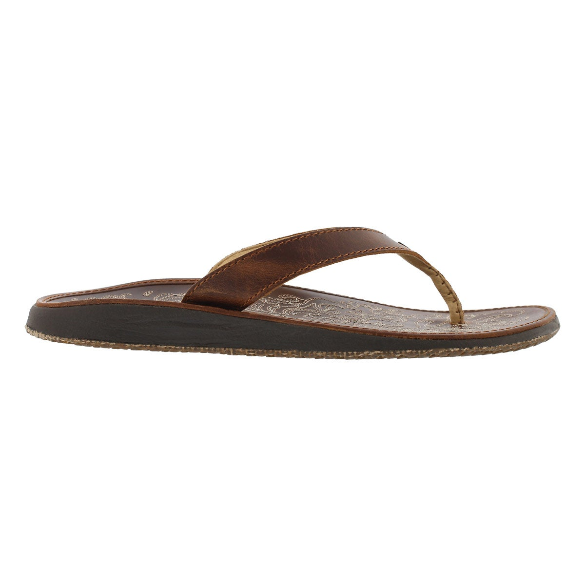 Lds Paniolo natural thong sandal