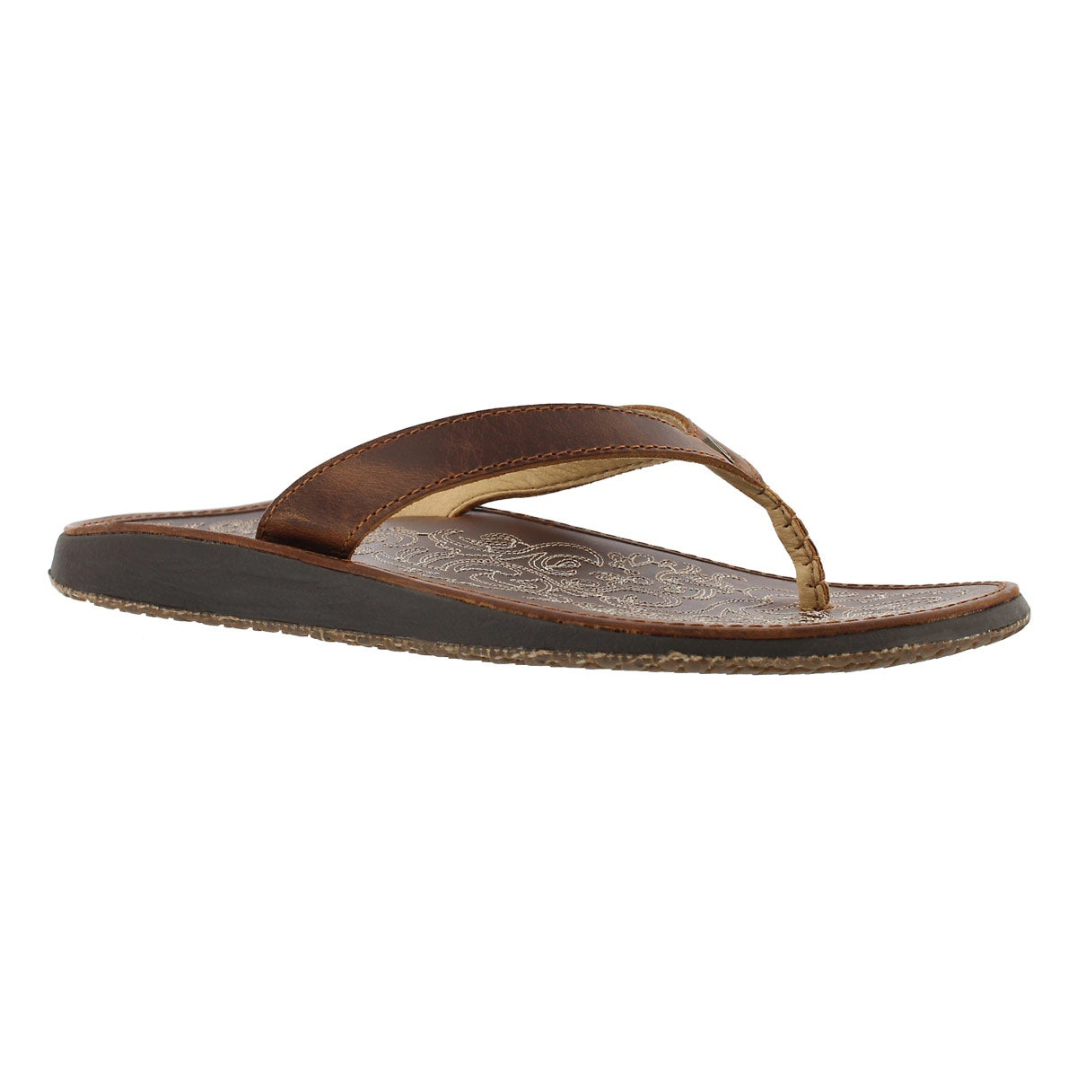 Women's PANIOLO natural thong sandals