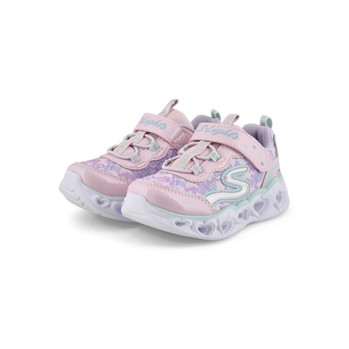 Infs-g Heart Lights pnk/multi sneakers