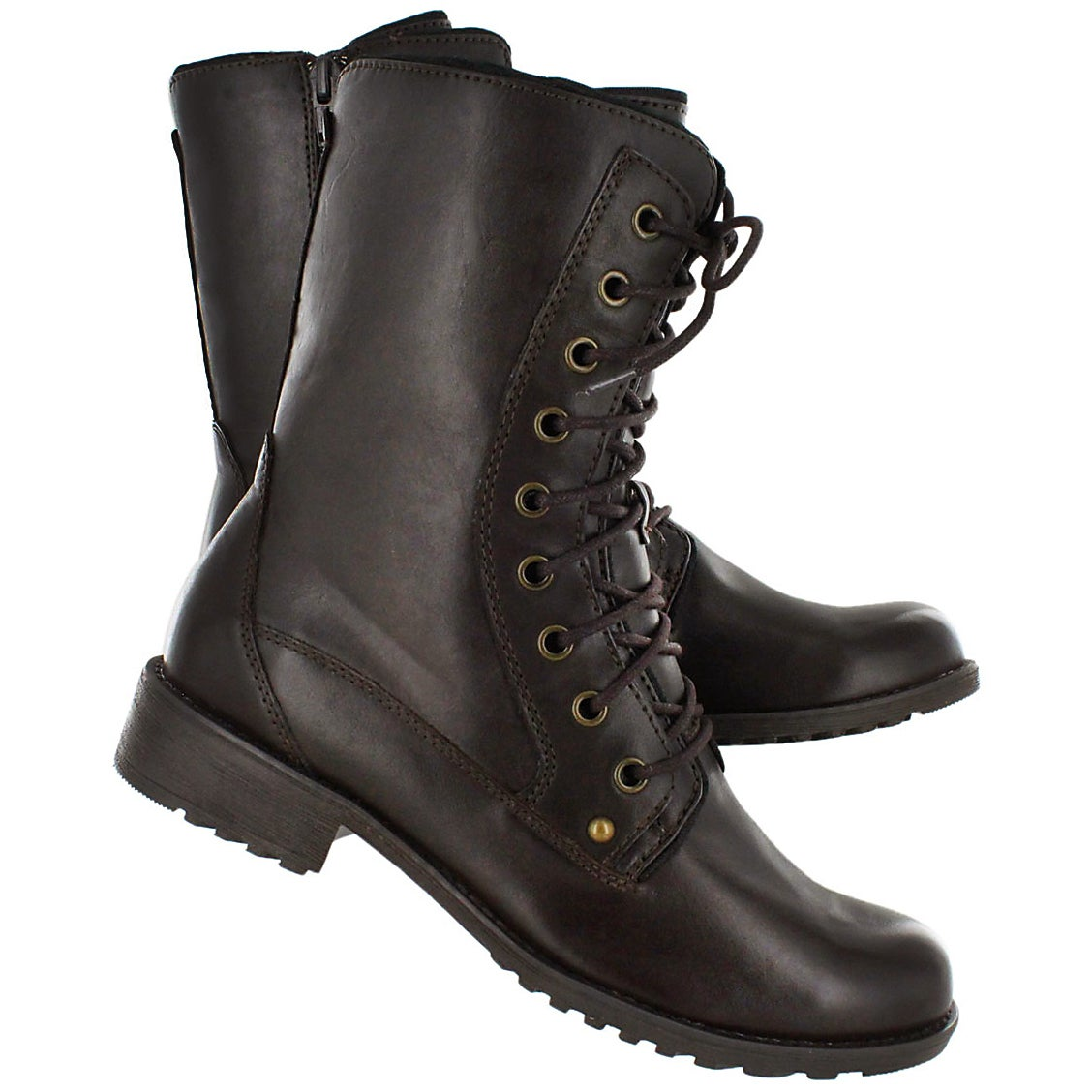 Lds Madison brn waterproof lace boot