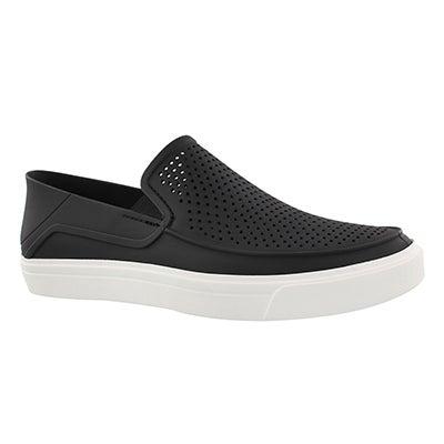 Mns CitiLane Roka blk/wht slip on shoe