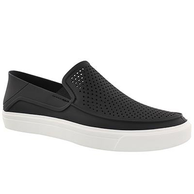 Mns CitiLane Roka blk/wht slip on shoe