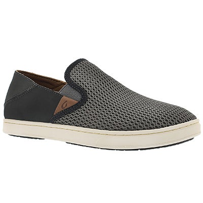 OluKai Women's PEHUEA charcoal slip on casual shoes
