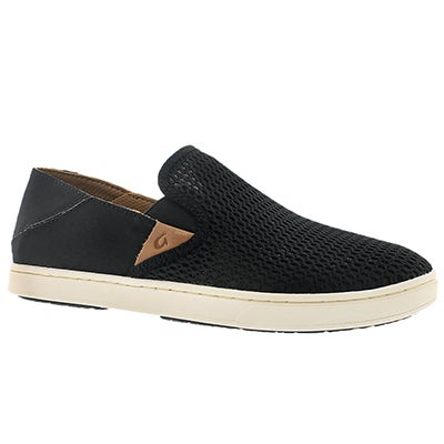 OluKai Women's PEHUEA black slip on casual shoes