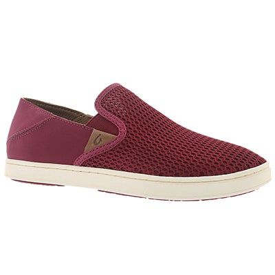 OluKai Women's PEHUEA pokeberry slip on casual shoes