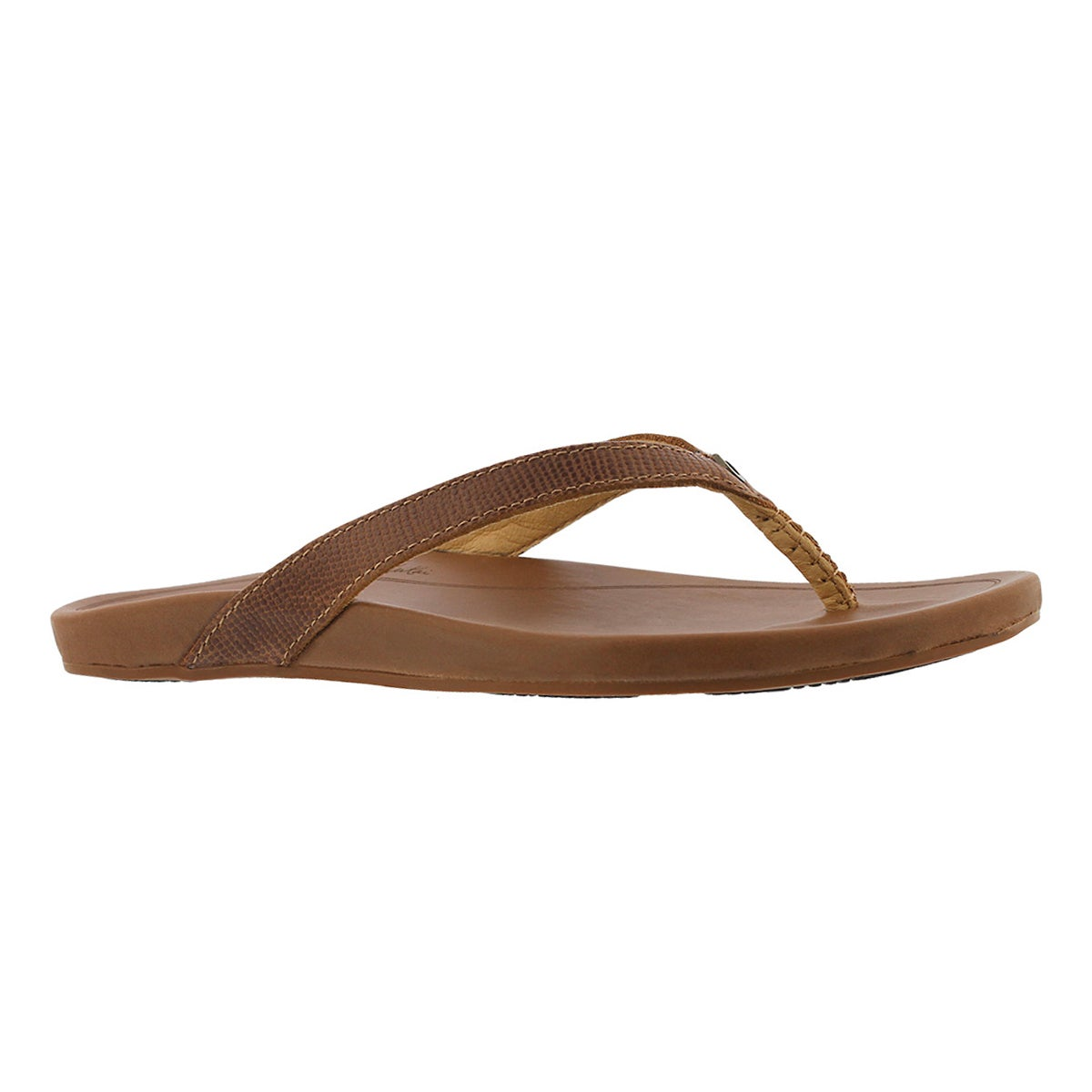 Women's HI'ONA tan thong sandals