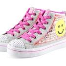 Grls Twi-Lites 2.0 multi hi top sneaker