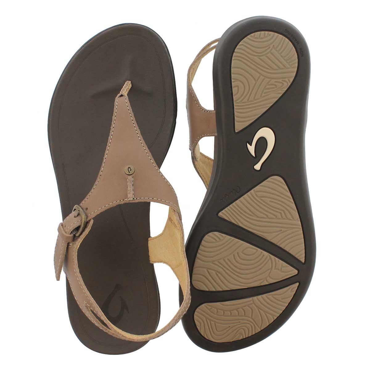 Lds Eheu clay/dk java thong sandal