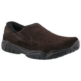 Mns Swiftwater Moc esp/blk slip on shoe