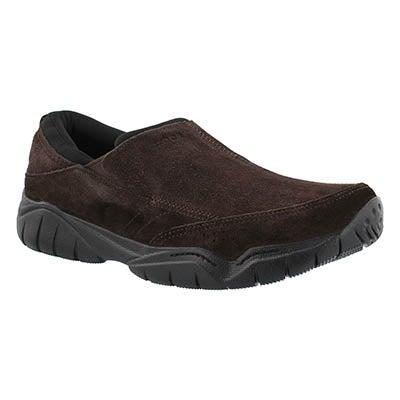Mns Swiftwater Moc esp/blk slip on shoe