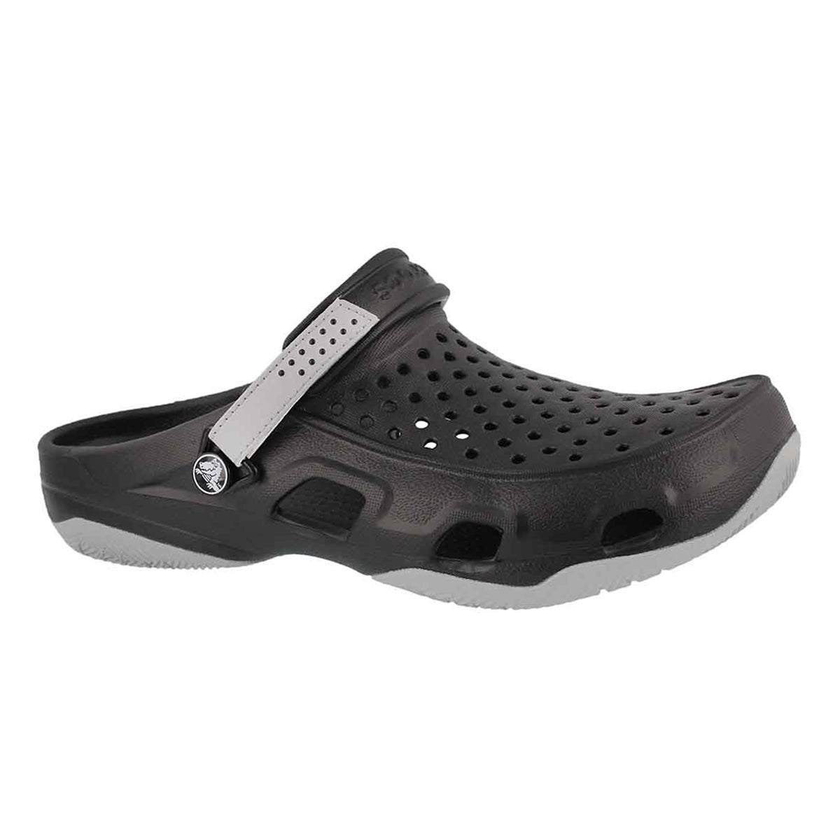 Men's SWIFTWATER DECK black/lght grey clogs