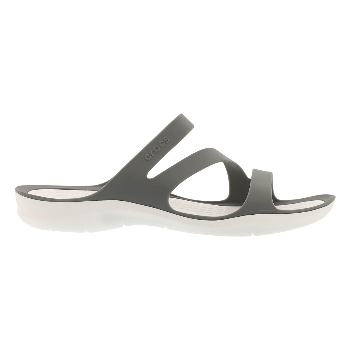 Lds Swiftwater smoke/white slide sandal