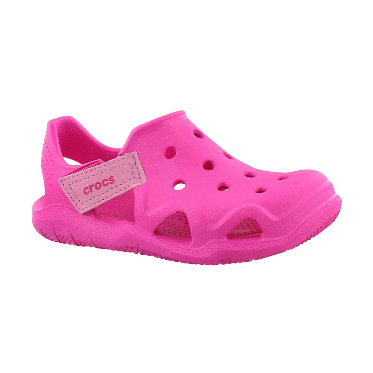 Girls' SWIFTWATER WAVE pink casual sandals
