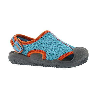 Crocs Kids' SWIFTWATER blue/grey casual sandals