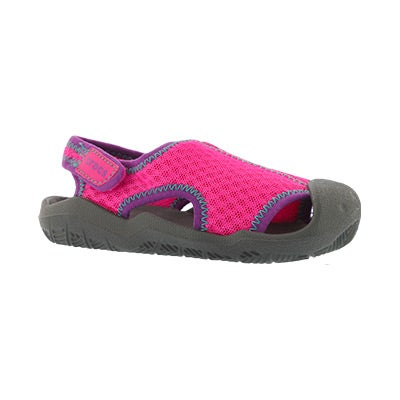 Sandale Swiftwater, magenta/gris, fille