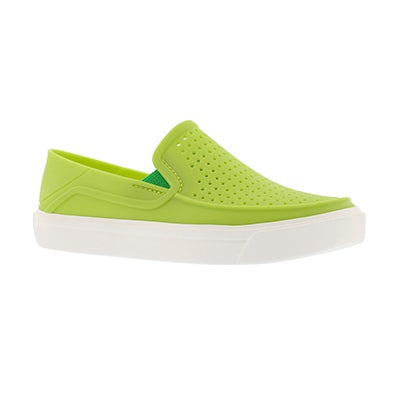 Bys CitiLane Roka volt green slip on