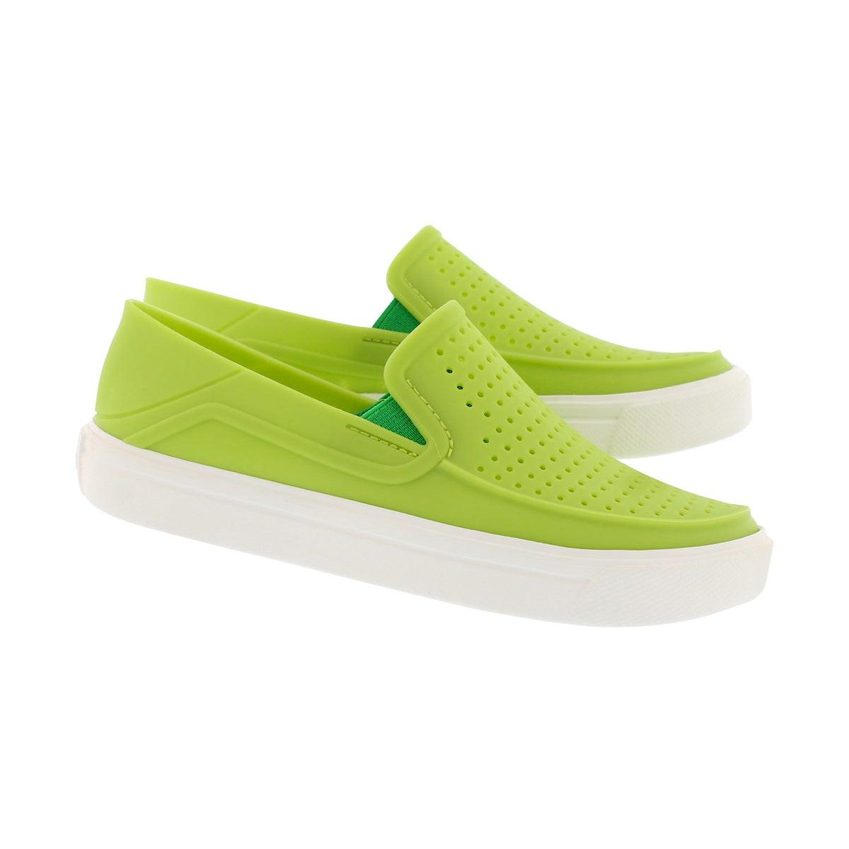 Bys CitiLane Roka volt green slip on