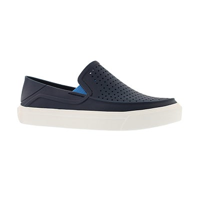 Bys CitiLane Roka navy slip on