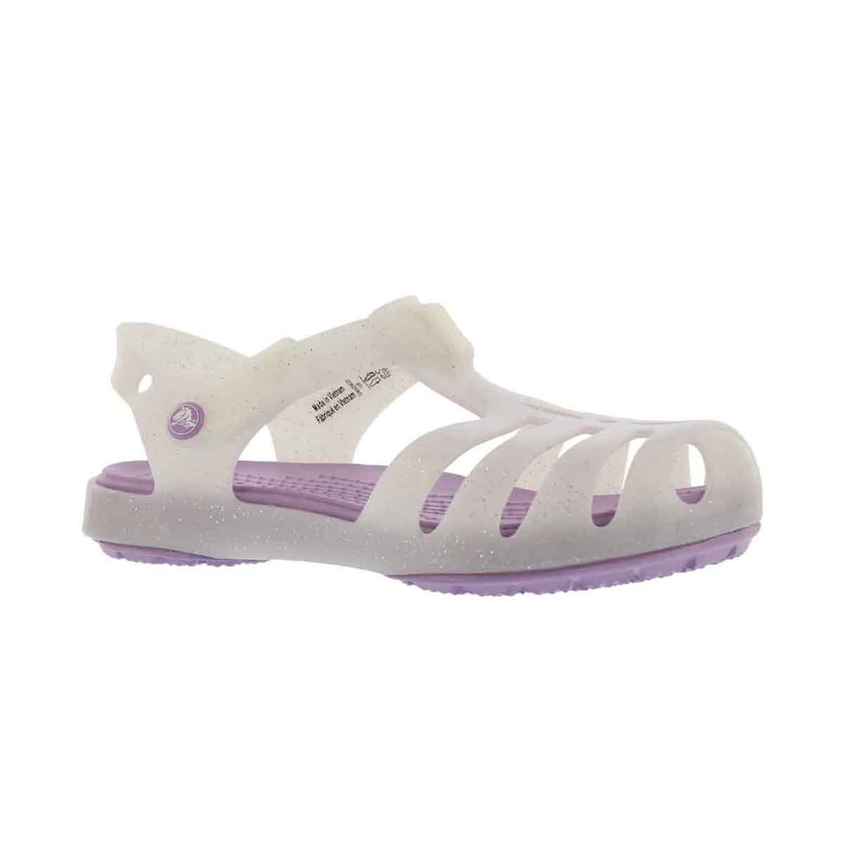Girls' ISABELLA white casual sandals