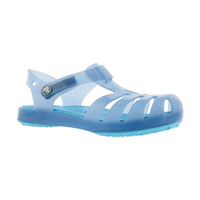 Grls Isabella dusty blue casual sandal