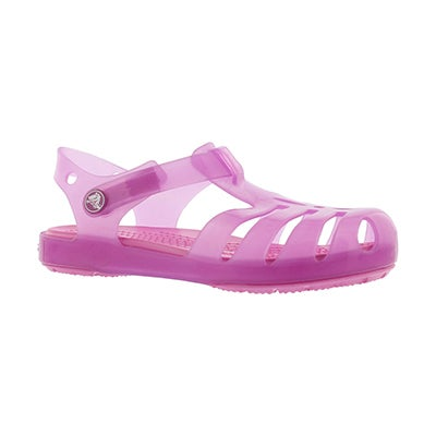 Grls Isabella wild orchid casual sandal