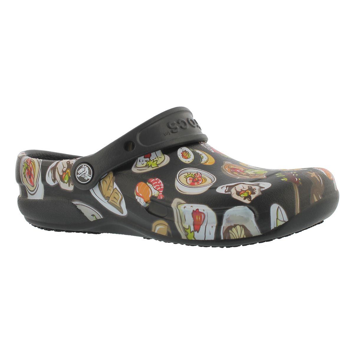 Unisex BISTRO GRAPHIC black/tumbleweed clogs