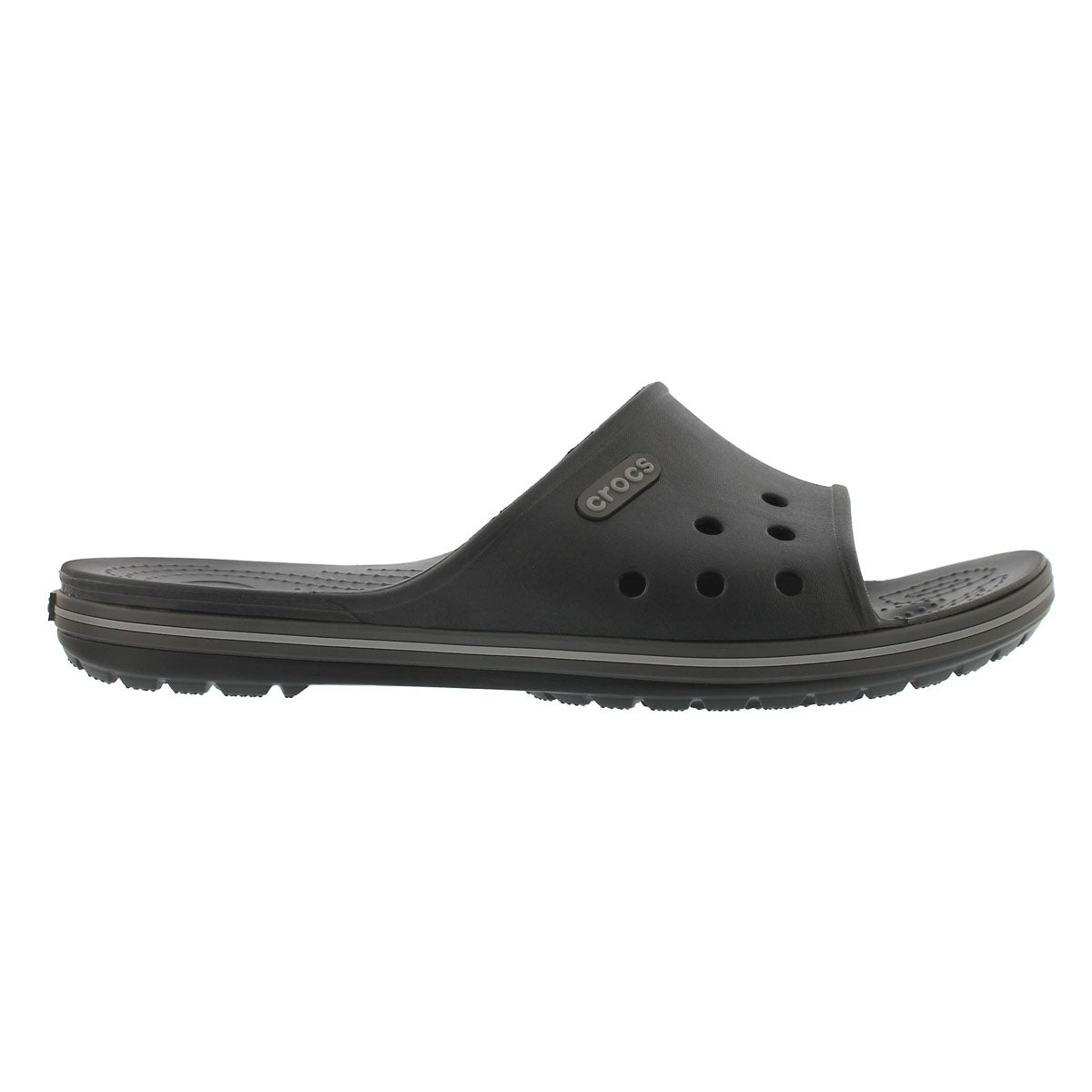 Mns Crocband II black/graphite sandal
