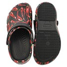 Unisex Bistro Peppers blk/red clog