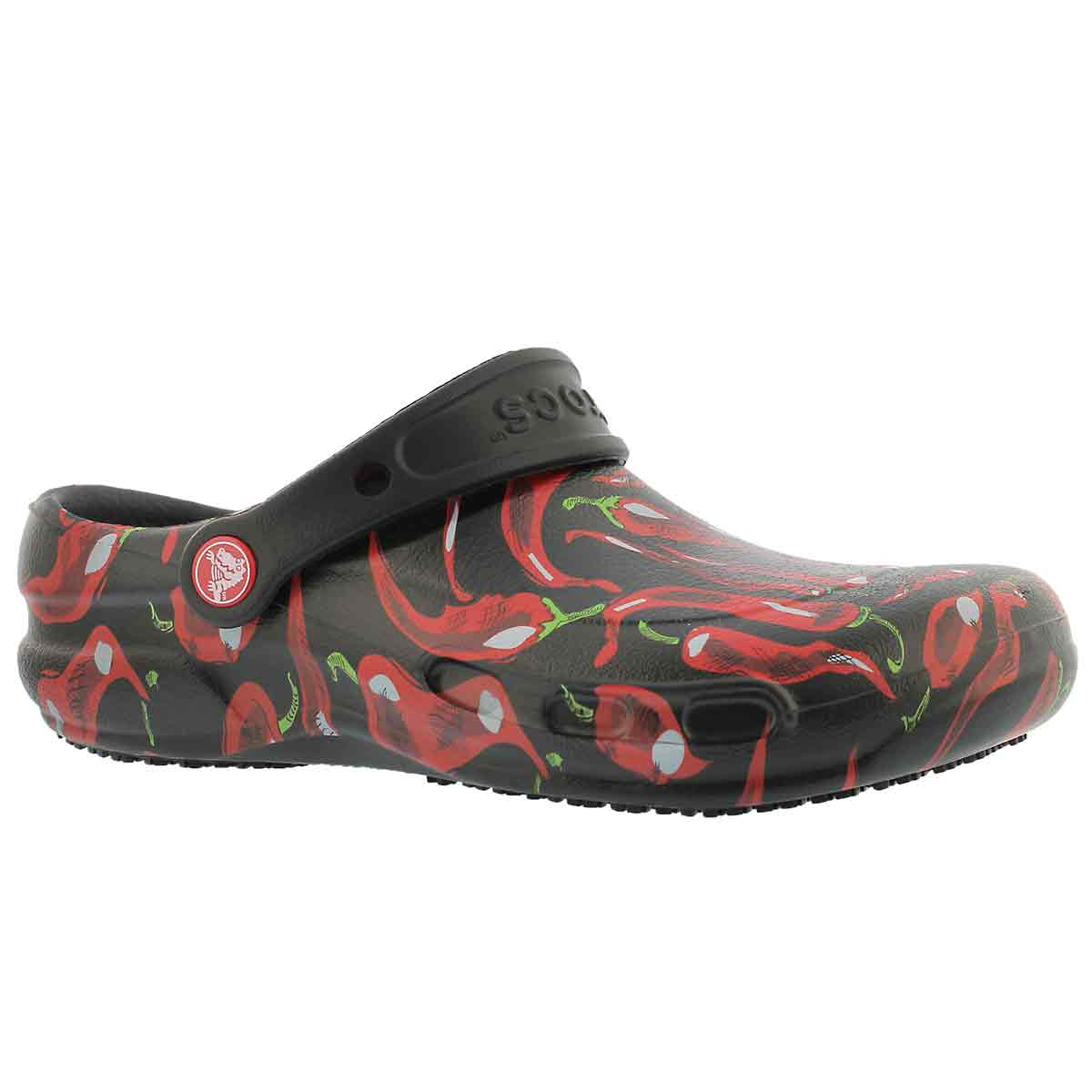 Unisex BISTRO PEPPERS black/red clogs