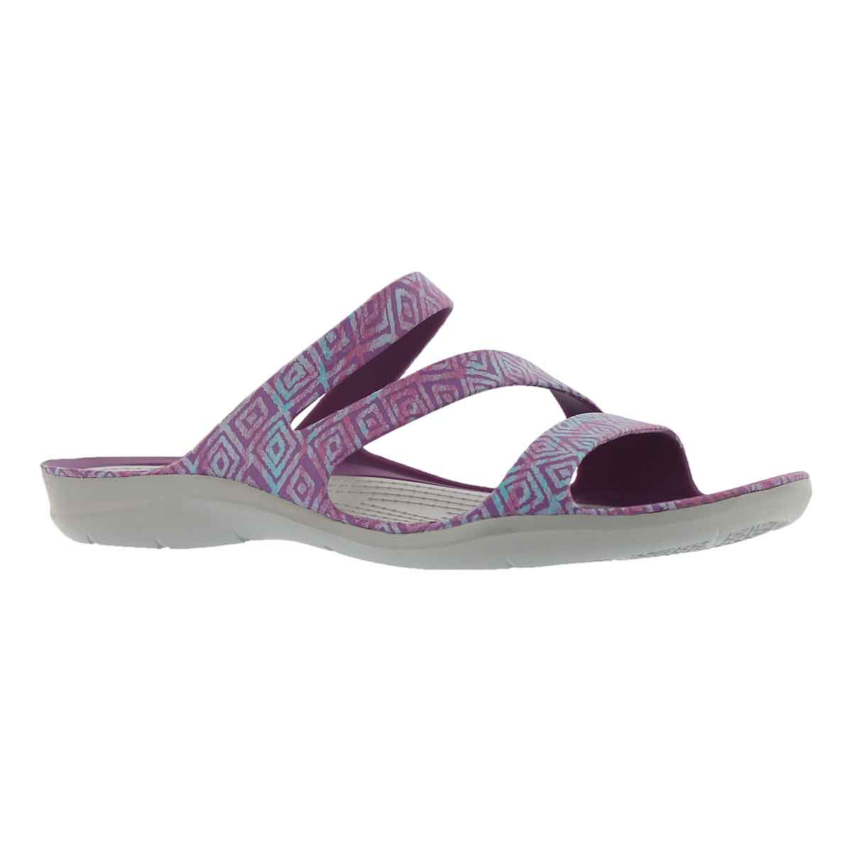 Women's SWIFTWATER GRAPHIC amethyst/gry sandals