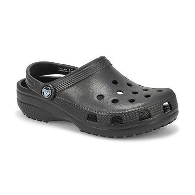 Crocs Kids' CLASSIC black EVA comfort clogs