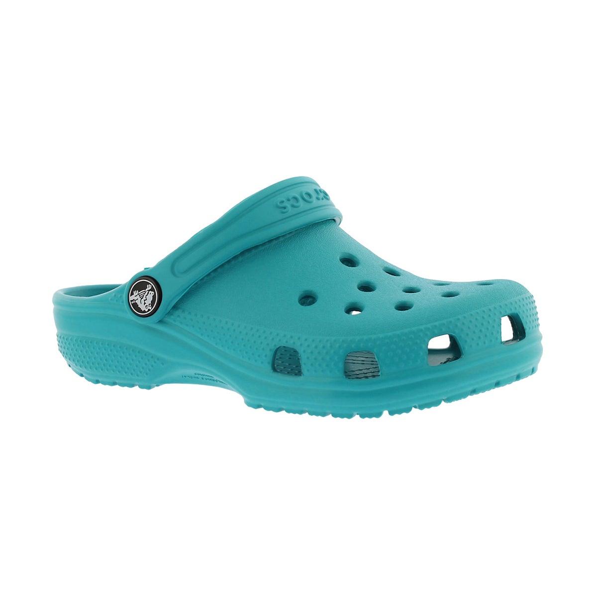 Kids' CLASSIC turquoise EVA comfort clogs