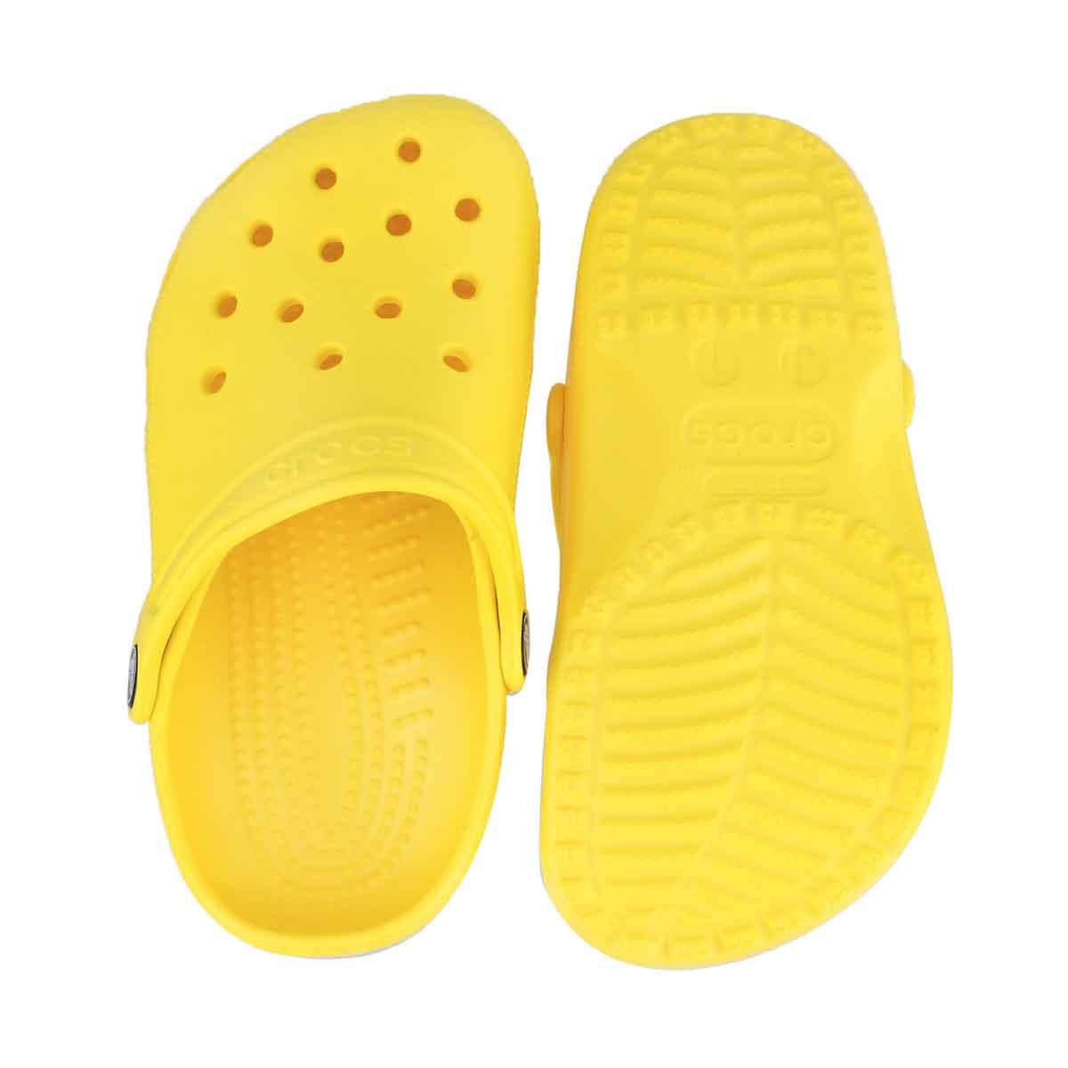 Grls Classic lemon EVA comfort clog