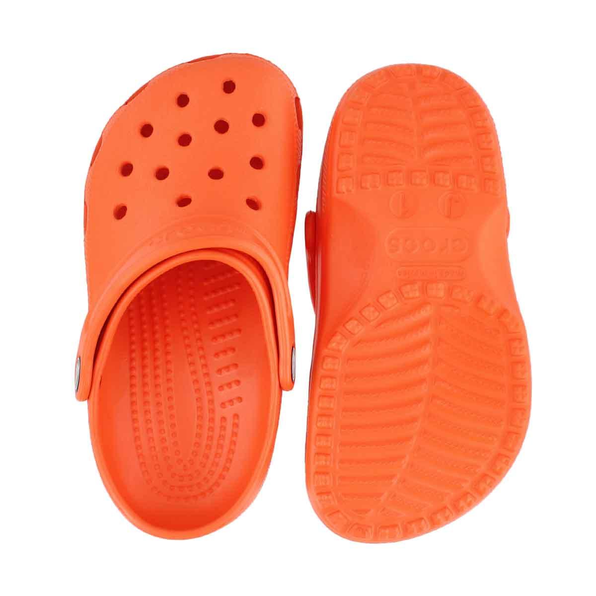 Kds Classic tangerine EVA comfort clog