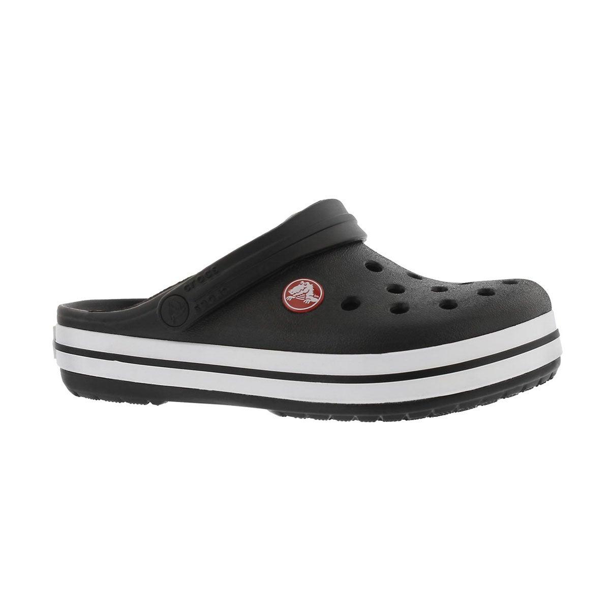 Kids' CROCBAND black EVA comfort clogs