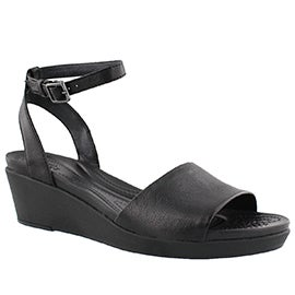Lds LeighAnn wedge dress sandal
