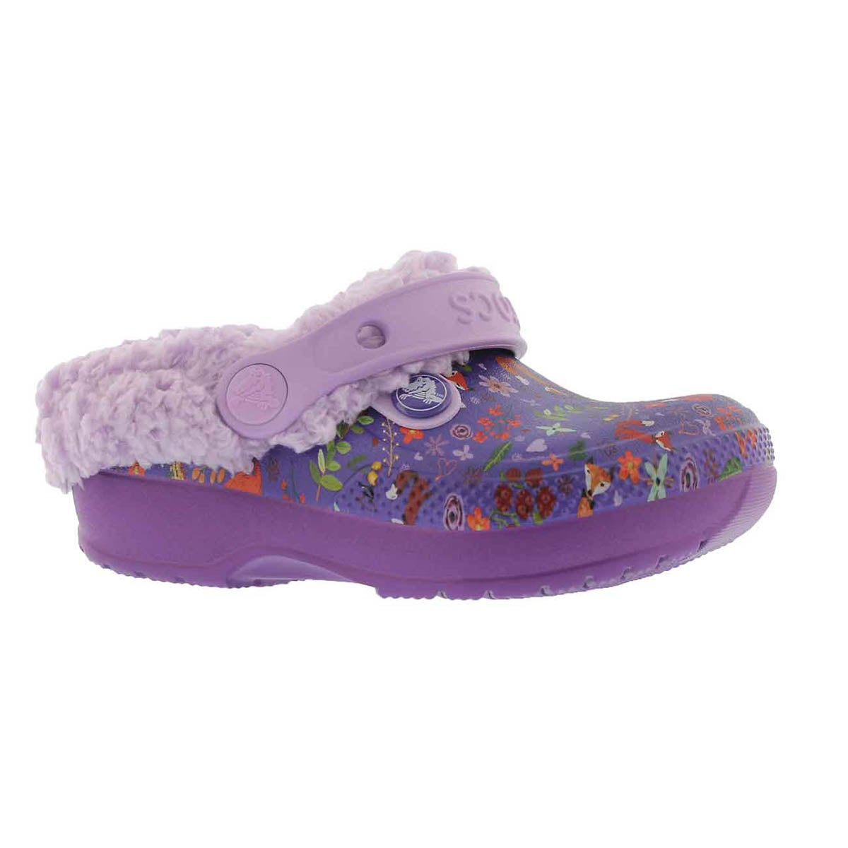 Girls' CLASSIC BLITZEN III GRAPHIC purple clogs