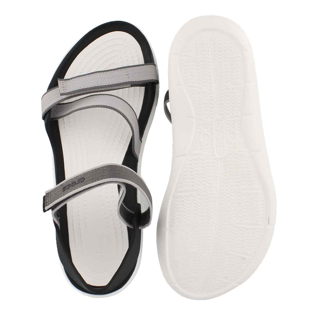 Lds Swiftwater Webbing pearl white sndl