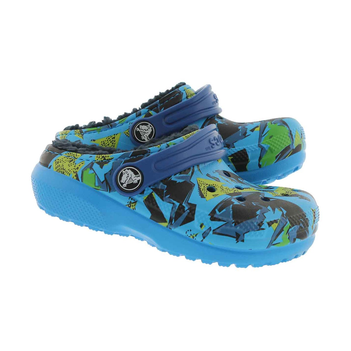 Bys Classic Lined Graphic ocn/nvy clog