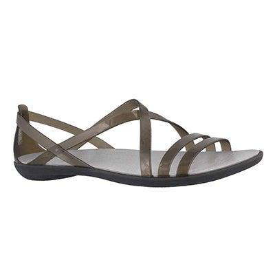 Lds Isabella Strappy black sandal