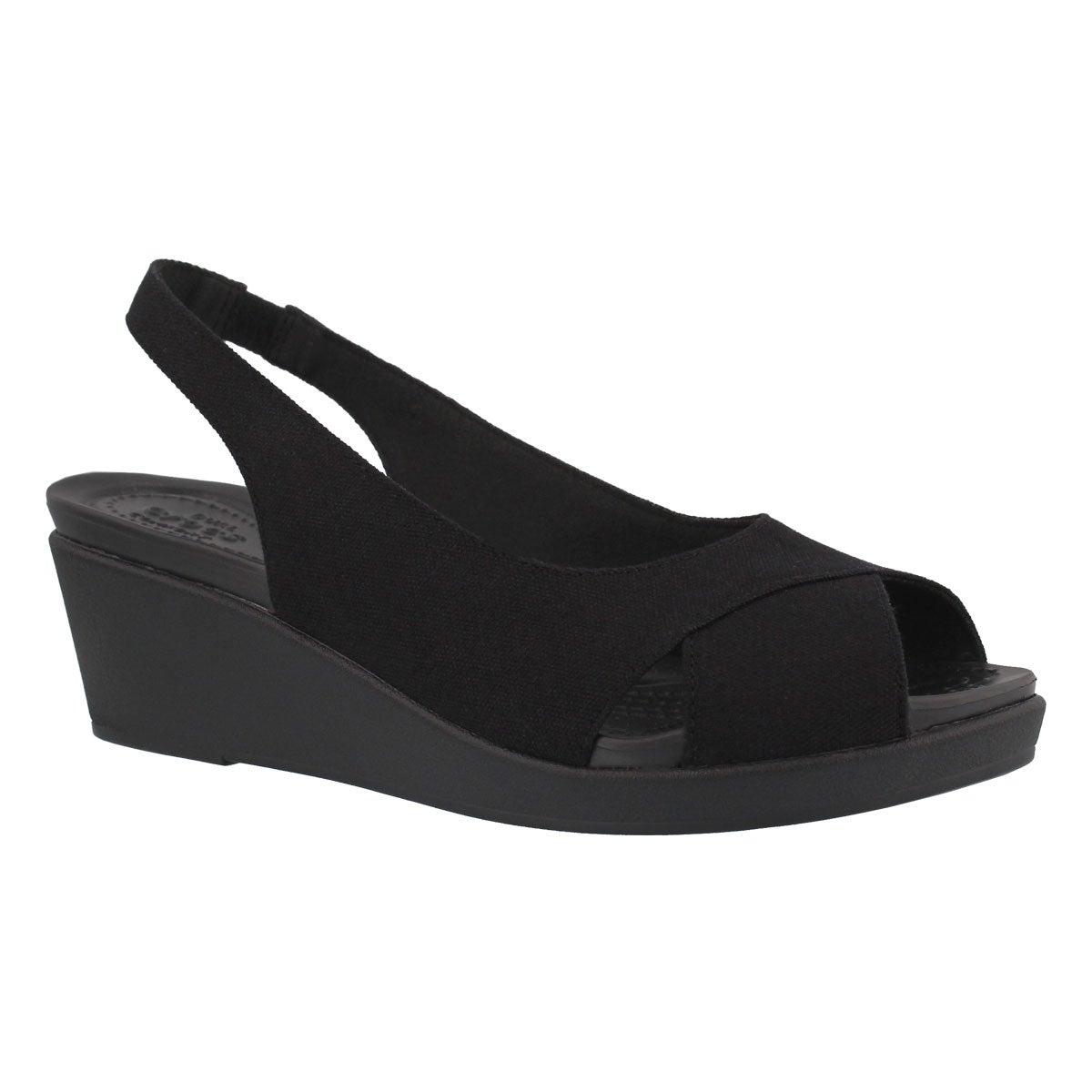 Women's LEIGHANN SLINGBACK blk/blk sandals